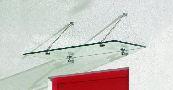 Das Ganzglasvordach: Basic von Pauli und Sohn, wenn das gewünschte Vordach groß ausfallen soll.
