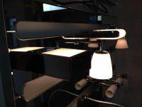 Exklusive Lampen von der italienischen Firma B.M.B. in unserer Ausstellung.